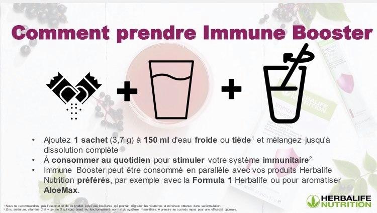 Comment prendre immune booster
