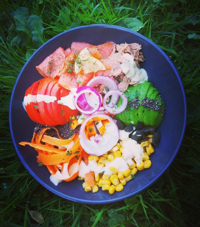 Assiette équilibré alimentation saine